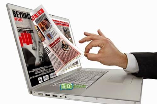 Generasi pertama Media Online di Indonesia