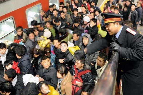 Mudik di Tiongkok Terbesar Di Dunia