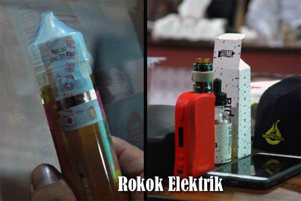 Vape si Rokok Elektrik (E-Cigarette)