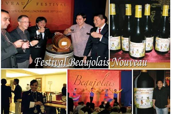 Festival Beaujolais Nouveau di Indonesia