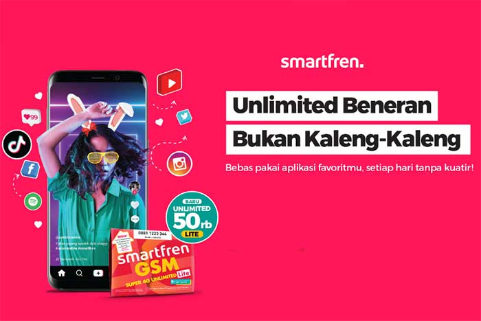 smartfren Paket Unlimited