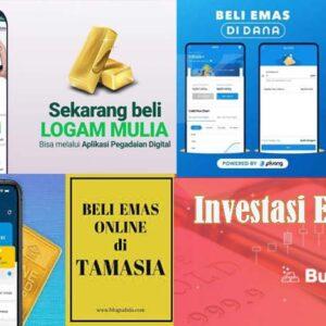 Aplikasi Investasi Emas bagi pemula