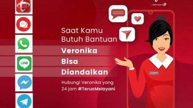 anya Veronika Asisten Virtual Telkomsel