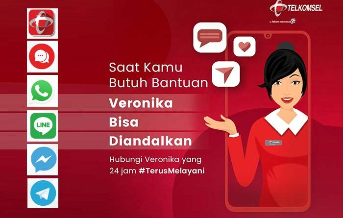 anya Veronika Asisten Virtual Telkomsel
