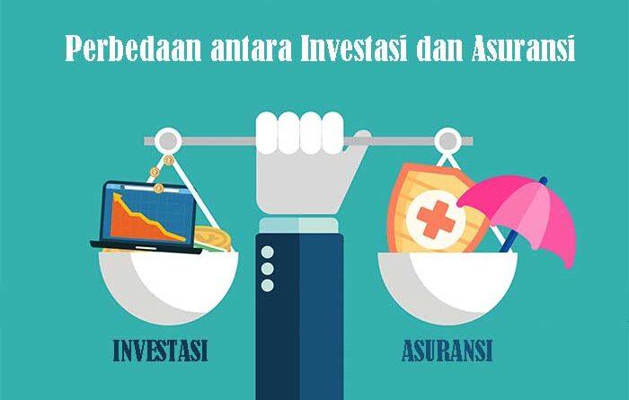 Perbedaan antara Investasi dan Asuransi
