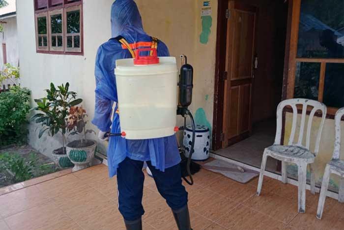 disinfektan di rumah
